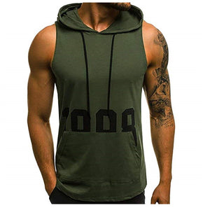 2020 New fashion cotton sleeveless shirts tank top men Fitness shirt mens singlet Bodybuilding workout gym vest fitness men