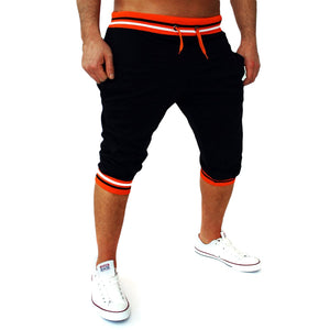 Mens Harem Capri Baggy Bermuda Masculina Men Shorts Cotton Blends Fitness Sweat Shorts Male Bodybuilding jogger Shorts M-2XL F15