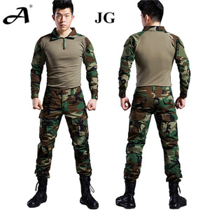 Tactical gear airsoft military clothing camouflage suit for combat military uniform multicam paintball equipment army
