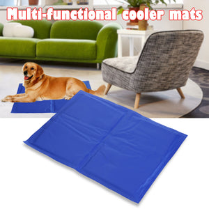 Dog Bed Summer Puppy Gel Ice Mat Cooling Mat Sofa Kennel for Large Small Dog Cats Sleeping Cushion Bed Pet Products