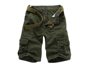 Open image in slideshow, Hot sell multi pocket tooling loose mens shorts trousers men patch decoration casual man 5 minutes of shorts 60wy