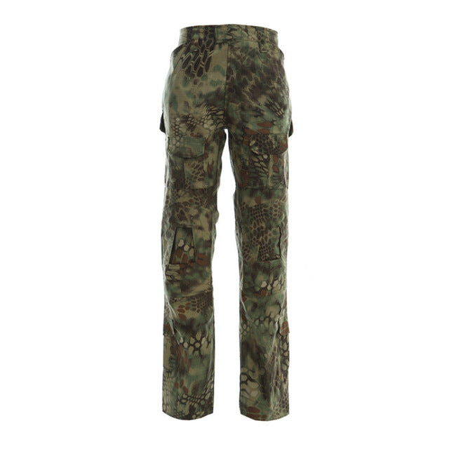 MEGE 12 Camouflage Color Tactical Clothing Army of Combat Uniform, Military Pants With Knee Pads, Airsoft Paintball Clothing