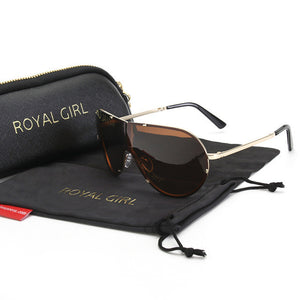 ROAYL GIRL Men HD Polarized Sunglasses folding frame Retro Glasses Shades ms130