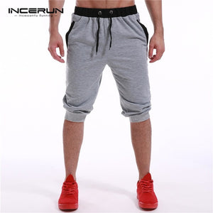 Men Casual Shorts Summer Bermuda Shorts Joggers Fashion Sweatpants Male Fashion Short Trousers Loose Sportswear Tracksuit New