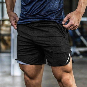 Open image in slideshow, New Fashion Men Sporting Beaching Shorts Trousers Cotton Bodybuilding Sweatpants Fitness Short Jogger Casual Gyms Men Shorts 3XL
