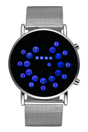 Open image in slideshow, Unique Personality Digital Watch Men Wrist Watch Fashion LED Watches