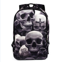 we more  Backpacks 2018 trend skull Travel Backpack For Teenager Fashion Male Leisure Travel backpack anti thief