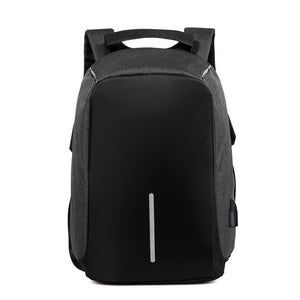 XCZJ USB charging Men 15inch Laptop Backpacks For Teenager Fashion Male Mochila Leisure Travel backpack anti thief
