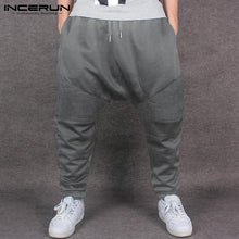 INCERUN 2018 Harem Pants Warm Winter Autumn Men Women Sweatpants Baggy Cross-Pants Loose Joggers Trousers Dance Hombre Pantalon