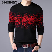 COODRONY Sweater Men Casual O-Neck Pullover Men Clothes 2018 Autumn Winter New Arrival Top Sost Warm Mens Cashmere Sweaters 8257