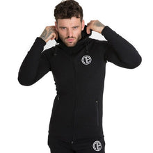 Autumn New Mens Skinny Hoodies Sweatshirts Male Gyms Fitness Bodybuilding Joggers Sportswear Casual Fashion Cotton Zipper Jacket