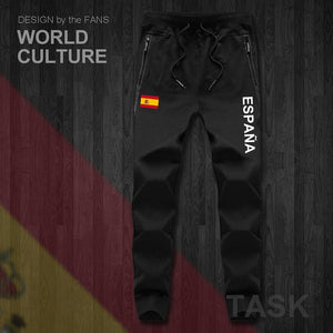 Kingdom of Spain Espana ESP Spanish Spaniard mens pants joggers jumpsuit sweatpants track sweat fitness fleece tactical casual