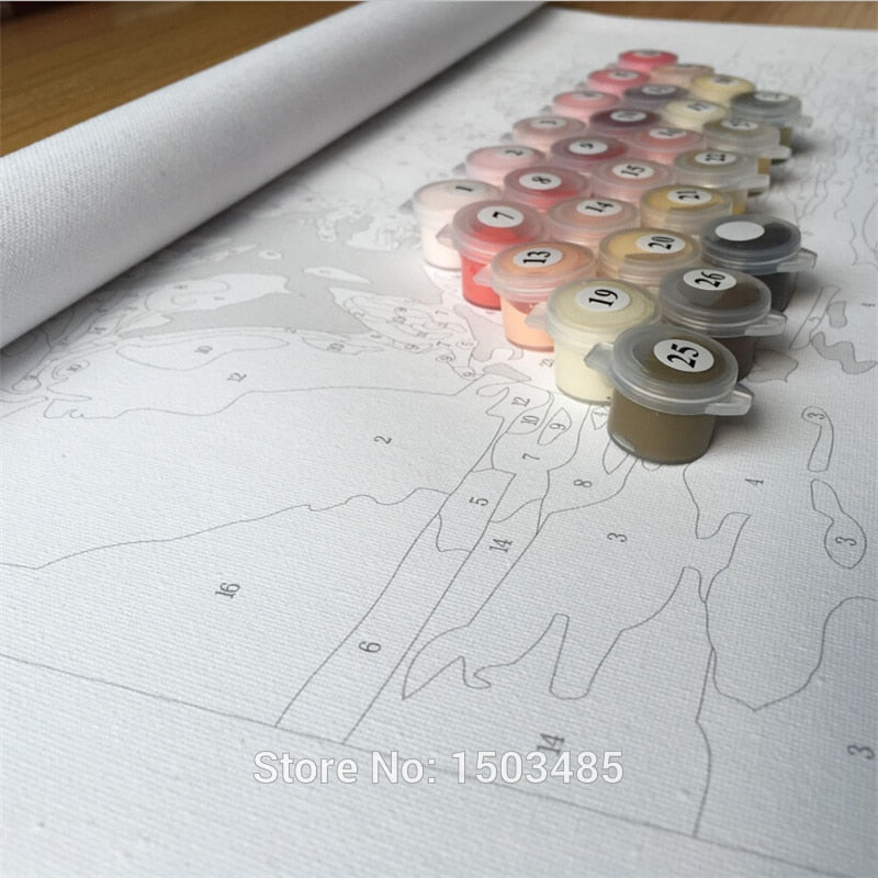 Paint By Numbers - DIY Deep Love CanvasShow Kit