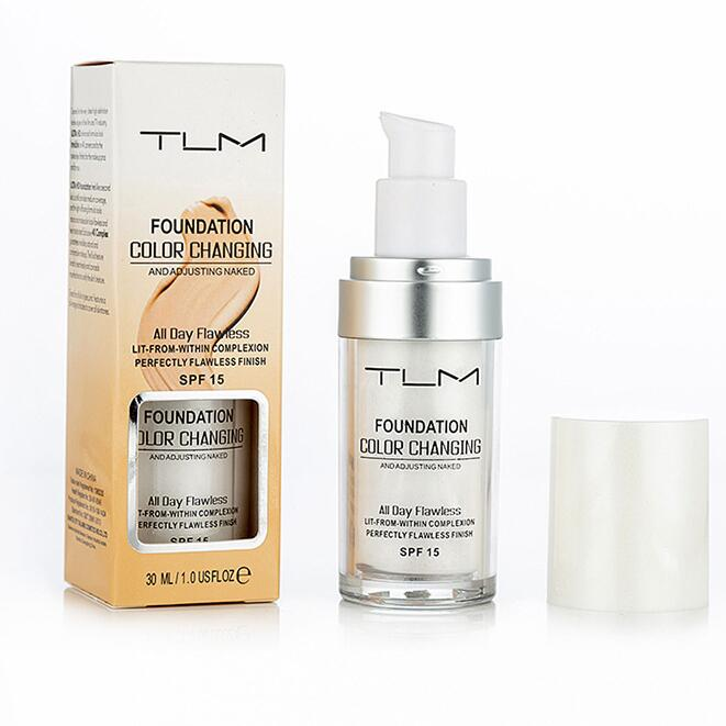 TLM Flawless Color Changing Foundation (Original)