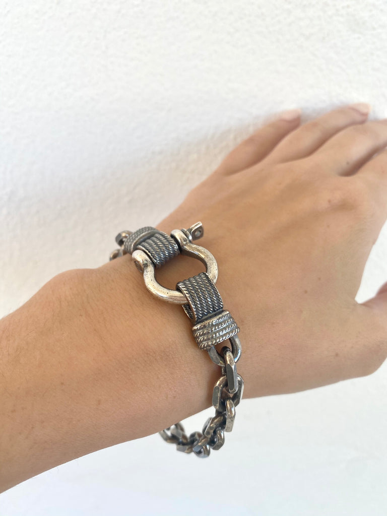 "Brazalete ""Cable Chain"""
