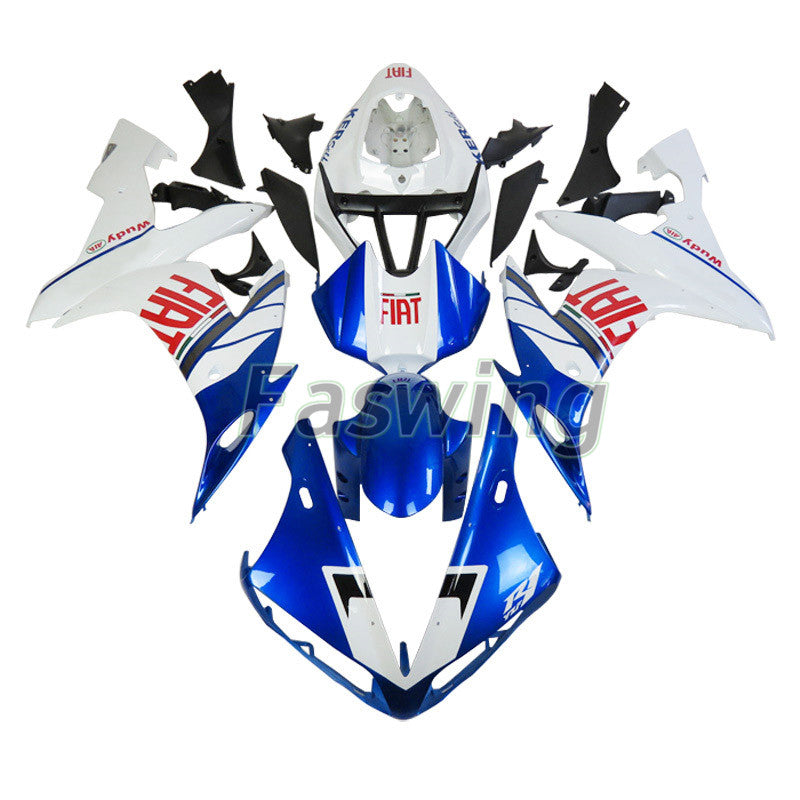 Fairings for Yamaha YZF-R1 2004-2006 Blue & White Fiat Racing