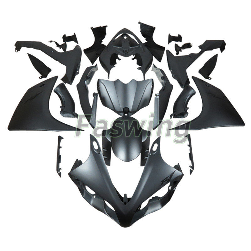 Fairings for Yamaha YZF-R1 2007-2008 Matte Gray R1 Racing