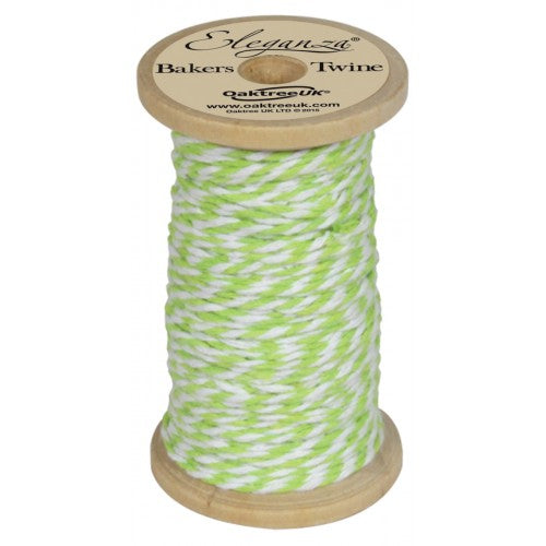 Lime Green Twine Ribbon - Alaynashome