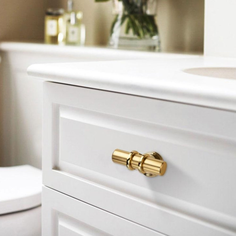 Solid Brass Drawer Pull - Alaynashome