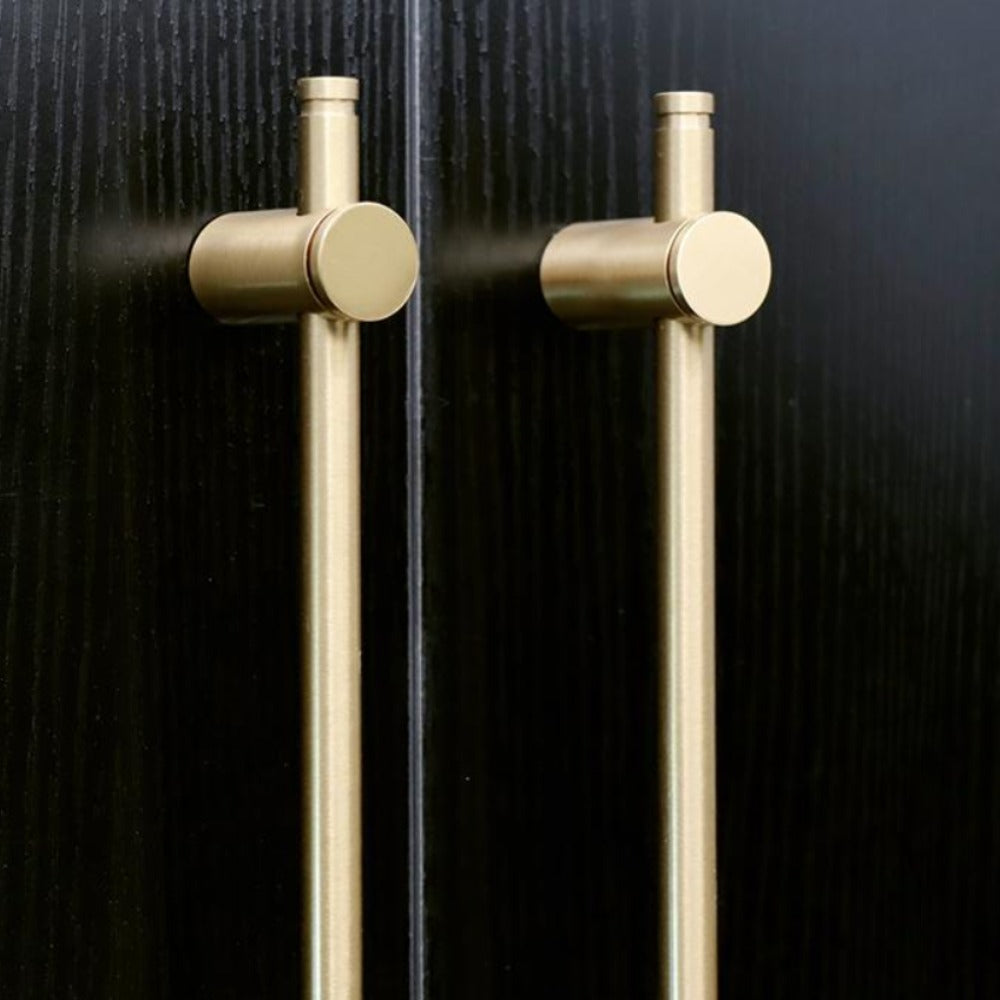 Long Brass Handle Pair - Alaynashome