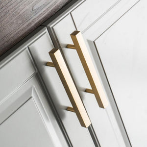 Brass Bar Handle - Alaynashome