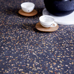 Round Teak and Terrazzo Dining Table - Alaynashome