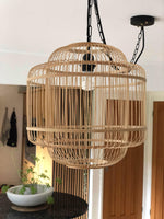 Moroccan Rattan Lamp or Ceiling shade - Alaynashome