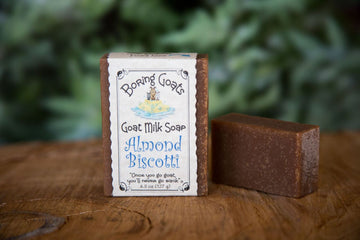 Almond Biscotti Soap