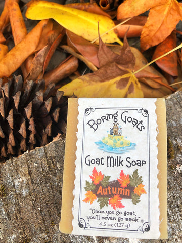 Autumn Soap