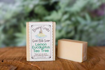 Lemon Eucalyptus Tea Tree Soap