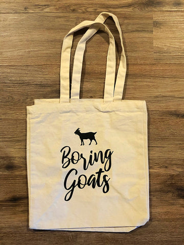 Boring Goats Tote