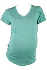 Tenaya V-Neck Maternity Eco Tee