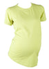 Half Moon Maternity Cotton/Lycra Tee