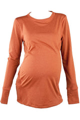 Clouds Rest Baselayer Maternity Crew Neck