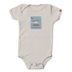 """S is for S'mores"" Organic Onesie/Tee"