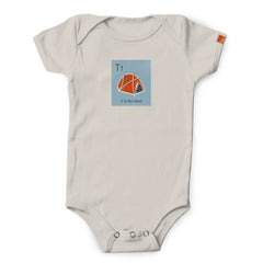 """T is for Tent"" Organic Onesie/Tee"