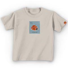 "OUTLET- ""T is for Tent"" Organic Onesie/Tee"