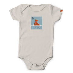 """S is for Skiing"" Organic Onesie/Tee"