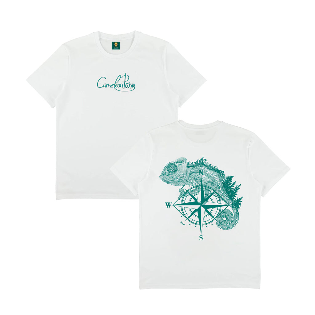 THE ADVENTURER - WHITE TEE SHIRT