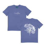 THE ADVENTURER - BLUE TEE SHIRT