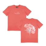 THE ADVENTURER - CORAL TEE SHIRT