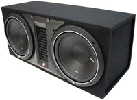 Rockford Fosgate Dual Punch 12's in box With 500rms Amplifier
