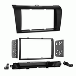 Double Din Size Stereo Facial Kits for 2004 to 2009 Mazda 3 Axela