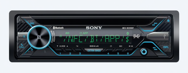 CD Receiver with BLUETOOTH® Wireless Technology MEX-N5200BT