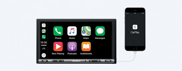 Sony Xav-AX3000 CarPlay Android Auto Headunit