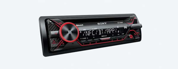 CD Receiver with BLUETOOTH® Wireless Technology MEX-N4200BT and XS-FB1621C Speakers