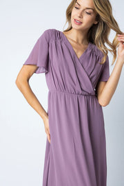 The Avianna Lilac Maxi Dress