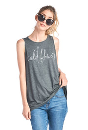 Wildflower Graphic Tank Top