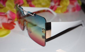 Sunsation- Multi tone sunglasses - Khoris Kloset