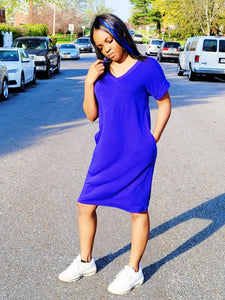 Stepping out- T-shirt dress - Khoris Kloset